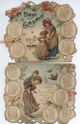 DAYS OF GLADNESS CALENDAR FOR 1901