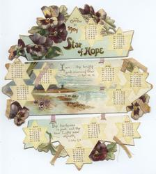 STAR OF HOPE CALENDAR FOR 1901