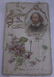 THE SHAKESPEARE CALENDAR FOR 1901