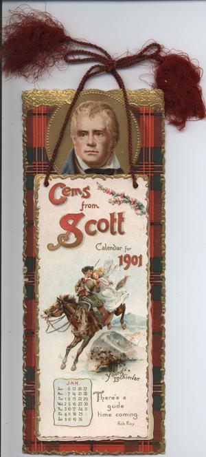 GEMS FROM SCOTT CALENDAR FOR 1901