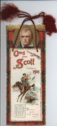 GEMS FROM SCOTT CALENDAR FOR 1901