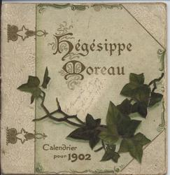 HEGISIPPE MOREAU CALENDRIER POUR 1902