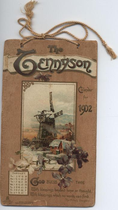 THE TENNYSON CALENDAR FOR 1902