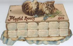 PLAYFUL HOURS CALENDAR FOR 1902