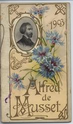 ALFRED DE MUSSET 1903 CALENDAR