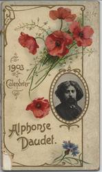 ALPHONSE DAUDET 1903 CALENDRIER