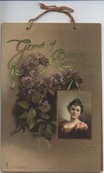 GEMS OF BEAUTY CALENDAR FOR 1903