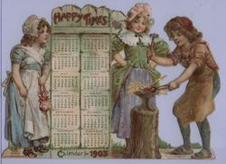 HAPPY TIMES CALENDAR FOR 1903