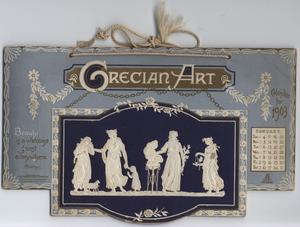 GRECIAN ART CALENDAR FOR 1903