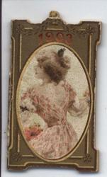1903 cameo of woman