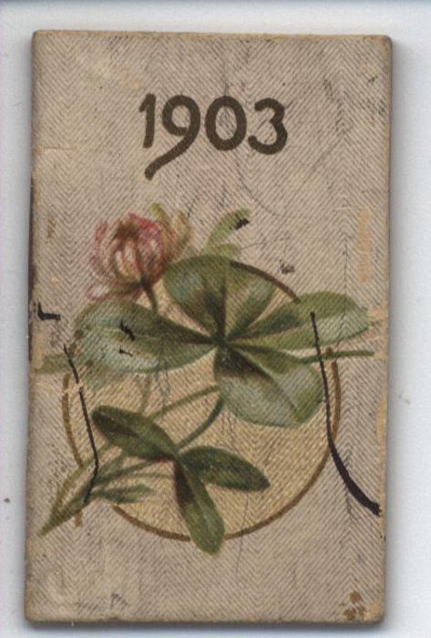 1903 four leaf clover