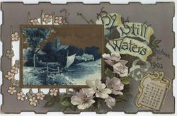 BY STILL WATERS CALENDAR FOR 1903