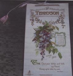 TENNYSON CALENDAR FOR 1903