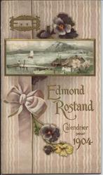 EDMOND ROSTAND CALENDRIER POUR 1904