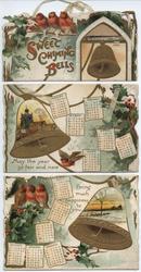 SWEET CHIMING BELLS CALENDAR FOR 1904