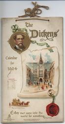 THE DICKENS CALENDAR FOR 1904