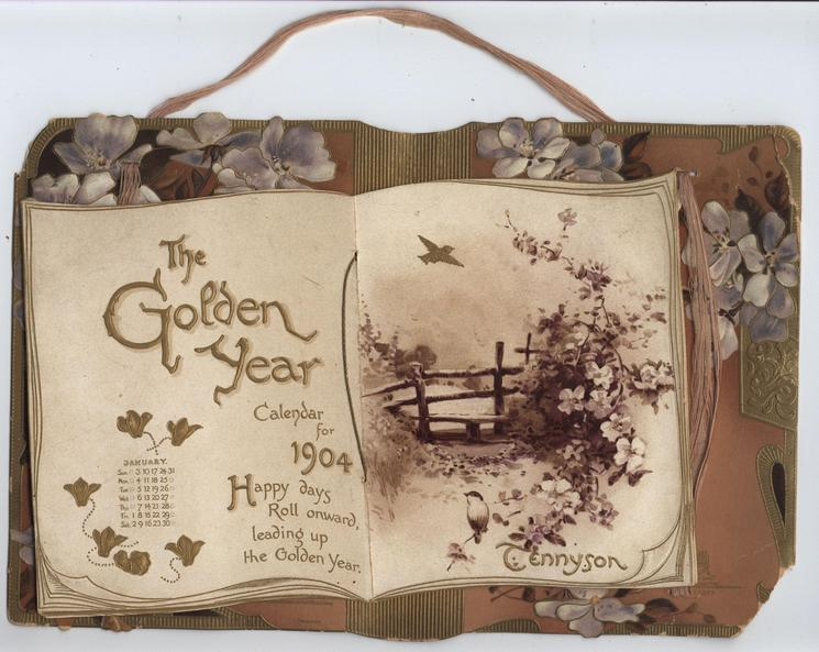 THE GOLDEN YEAR CALENDAR FOR 1904