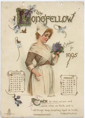 THE LONGFELLOW CALENDAR FOR 1905
