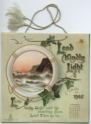 LEAD KINDLY LIGHT CALENDAR FOR 1905