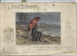 JOLLY ANGLERS CALENDAR FOR 1905