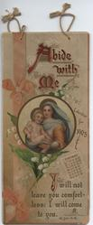 ABIDE WITH ME CALENDAR FOR 1905