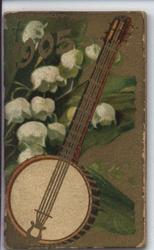 1905 banjo with lilies of the valley