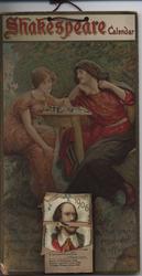 SHAKESPEARE CALENDAR 1906 (titled THE SHAKESPEARE on back listing)