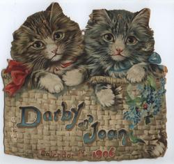DARBY AND JOAN CALENDAR FOR 1906