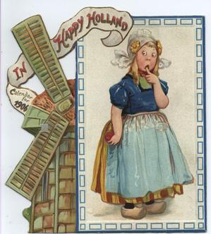 IN HAPPY HOLLAND CALENDAR FOR 1906