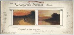 THE CHARLOTTE MURRAY CALENDAR FOR 1906