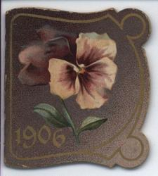 1906 purple pansy