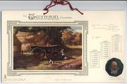 THE TENNYSON CALENDAR FOR 1908