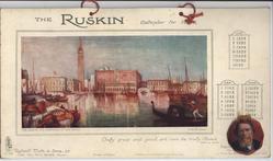 THE RUSKIN CALENDAR FOR 1908