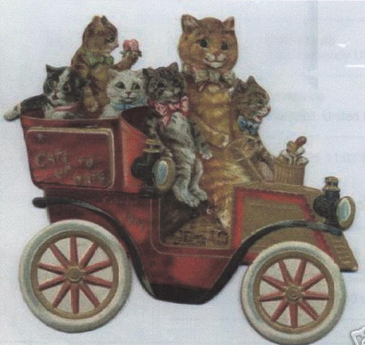 CATS UP TO DATE CALENDAR FOR 1909