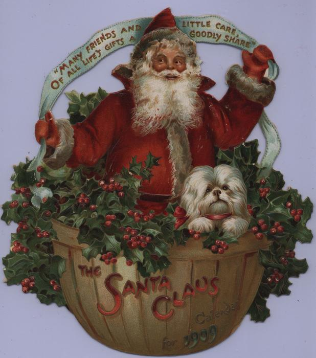 THE SANTA CLAUS CALENDAR FOR 1909