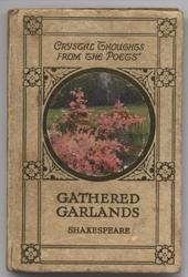 GATHERED GARLANDS image of garden with pink flowers