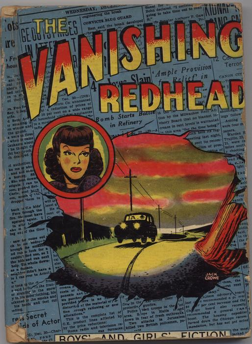 THE VANISHING REDHEAD