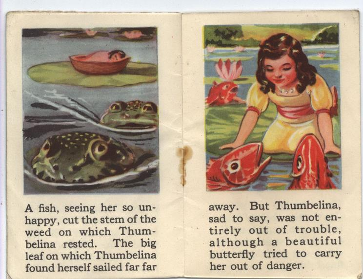 THE STORY OF THUMBELINA