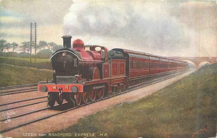 LEEDS AND BRADFORD EXPRESS,M.R.