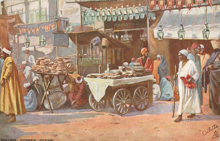 CAIRO. STREET SCENE