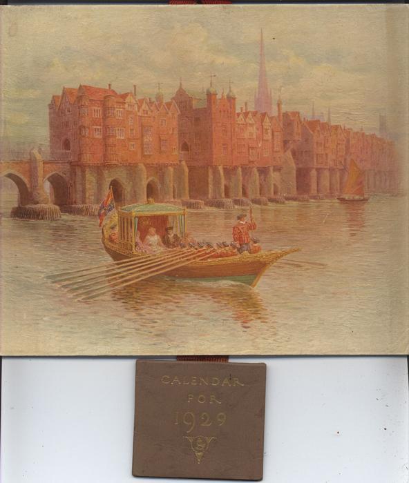 OLD LONDON BRIDGE (title on reverse)