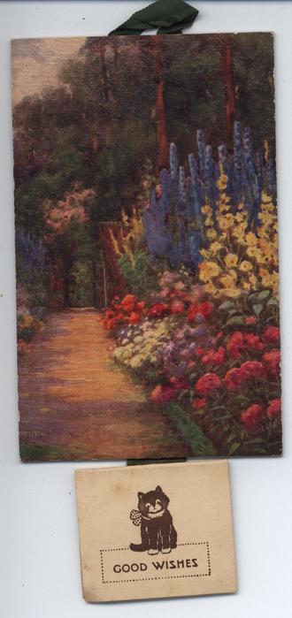 IN A GARDEN OF FLOWERS (title on reverse)