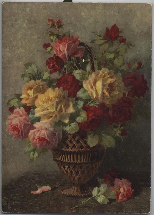 FLOWERS OF HAPPINESS (title on reverse)