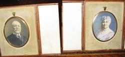 Minatures of Raphael and Ernestine Tuck