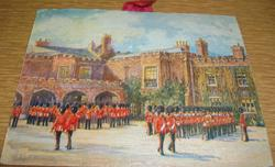 CHANGING THE GUARD AT ST. JAMES'S PALACE title on reverse