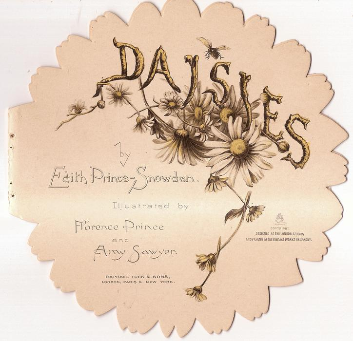 DAISIES, on inside front page