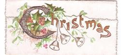 CHRISTMAS holly, mistletoe & bells