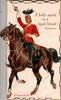 2ND. DRAGOON GUARDS  A BOLD SPIRIT IN A LOYAL BREAST uniformed life-guard rides front- left saluting with raised sword