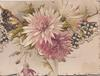 no front title, purple & white chrysanthemums on side & top flap