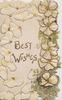 BEST WISHES right, yellow wild roses & ginkgo leaves